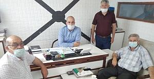 Ak Parti'den Esnaf Odası'na ziyaret