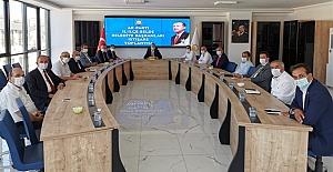Başkan Şen, Belediye Başkanları toplantısına katıldı
