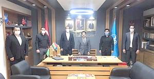 İlçe Ülkü Ocakları Başkanları toplantısına katıldı