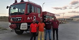 Kargı Orman işletme İzmir'de ki yangına yetişti