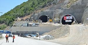 24 Eylül'de Kırkdilim yolu T3 tüneli açılıyor