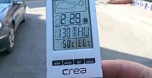 Termometreler Kargı'da 50 dereceyi gösterdi