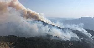 Yangın büyüyor! Köyler boşaltılmadı