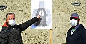 Atış taliminde hedef tam 12'den vuruldu