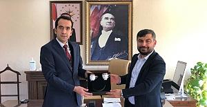 RTÜK Başkan Yardımcısından Kaymakam'a ziyaret