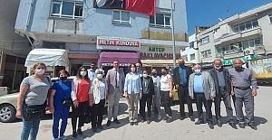 CHP yönetiminden ilçe yönetimleri ile istişare