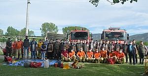 Ormancıların işbaşı eğitimleri Kargı'da tamamlandı