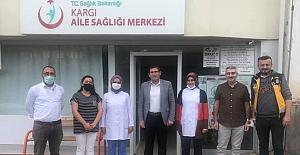 Sağlık Sen'den Kargı ASM ziyareti