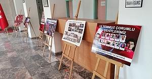 15 Temmuz fotoğraf sergisi açıldı