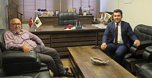 BİK Müdürü Güler'den veda ziyareti