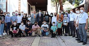 Kargı'daki okullarda incelemelerde bulundu
