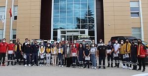Kargı 112 personellerine Bakan Soylu'dan teşekkür belgesi