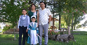 Özduran ailesinin mutlu günü