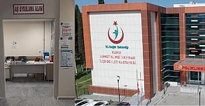 Hastaneye yeni aşı uygulama alanı