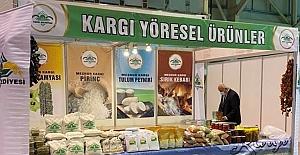 Kargı'nın yöresel ürünleri Tarım Fuarı'nda