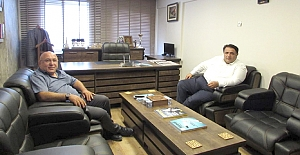 Milletvekili Kaya'dan Hacı Odabaş'a ziyaret