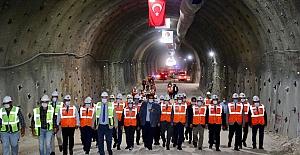 T3 tünelindeki ikinci tüpte ışık göründü
