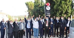 Alparslan Türkeş'in adı Kargı'da parka verildi