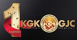 KGK, 1'inci kuruluş yıl dönümü mesajı