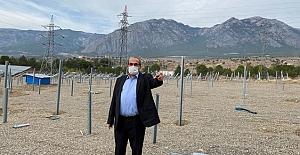 Kargı'ya güneş enerjisi santrali