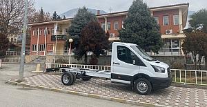 Kargı Belediyesi araç filosuna bir yenisini daha kattı