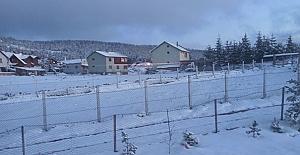 Kargı'ya beklenen kar geldi