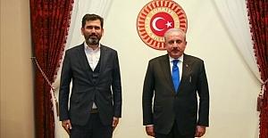 Cavit Tatlı'dan TBMM Başkanı Şentop'a ziyaret