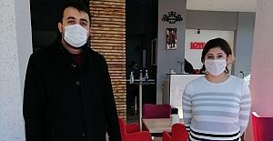 MHP'den kahvehanelere hayırlı olsun ziyareti