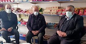 Mustafa Uğur'a taziye ziyaretinde bulundular
