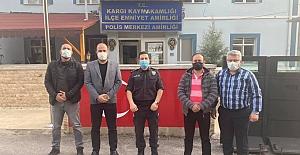 Esnaf Odası Polislerin Haftasını kutladı