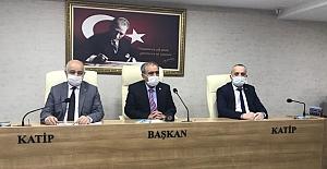 İl Genel Meclisi'nde Encümen seçimleri yapıldı