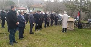 Vali Yardımcısı Erten'in babası Avni Erten toprağa verildi