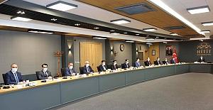 Kaymakam Uyar, KÖYDES toplantısına katıldı