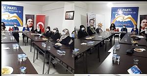 AK Kadınlar istişare toplantısı yaptı