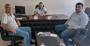 Murat Soruk, Kargı Fen Lisesini ziyaret etti
