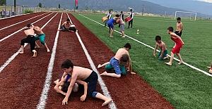 Çocuklar için güreş eğitimi başlıyor