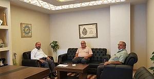 Hacı Odabaş, Milletvekili Kavuncu'yu ziyaret etti