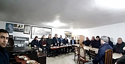 Milletvekili Kaya, Gökçedoğan Köylüleri ile görüştü