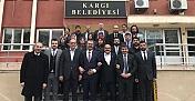 Ahlatcı'dan Başkan Şen'e hayırlı olsun ziyareti