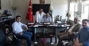 ÇORDEF yönetiminden Başkan Şen'e ziyaret