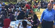 Tepearkası Köyü'nde bayram yemeği