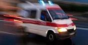 Orta refüje çarptı: 4 yaralı