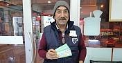 Kargı'da Milli Piyango biletlerine yoğun ilgi
