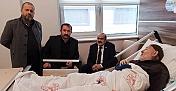 Başkan Şen'den anlamlı ziyaret