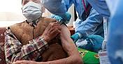 Kargı'da 90 yaş üzerindeki vatandaşlar aşılanmaya başlandı